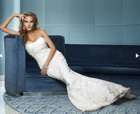Strapless Wedding Dresses Hollywood Glamour