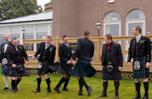 Ushers Kilts Wedding Ideas