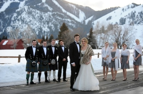 Wedding Outfits Scottish Kilts