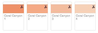 Wedding Colours Corals Greys