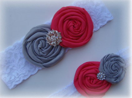 Wedding Ideas Coral Grey Palette