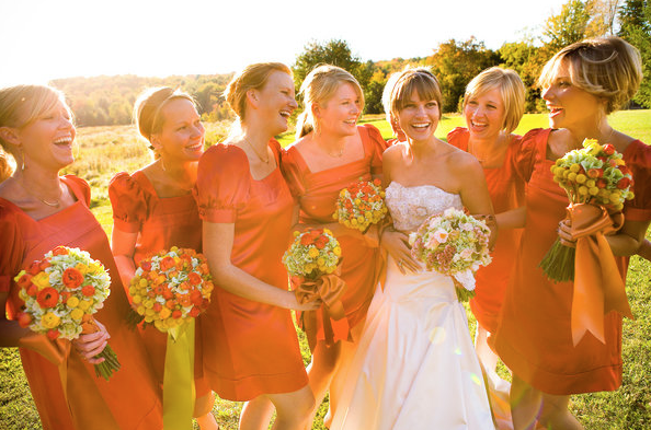 Fall Bridesmaid Dress Ideas